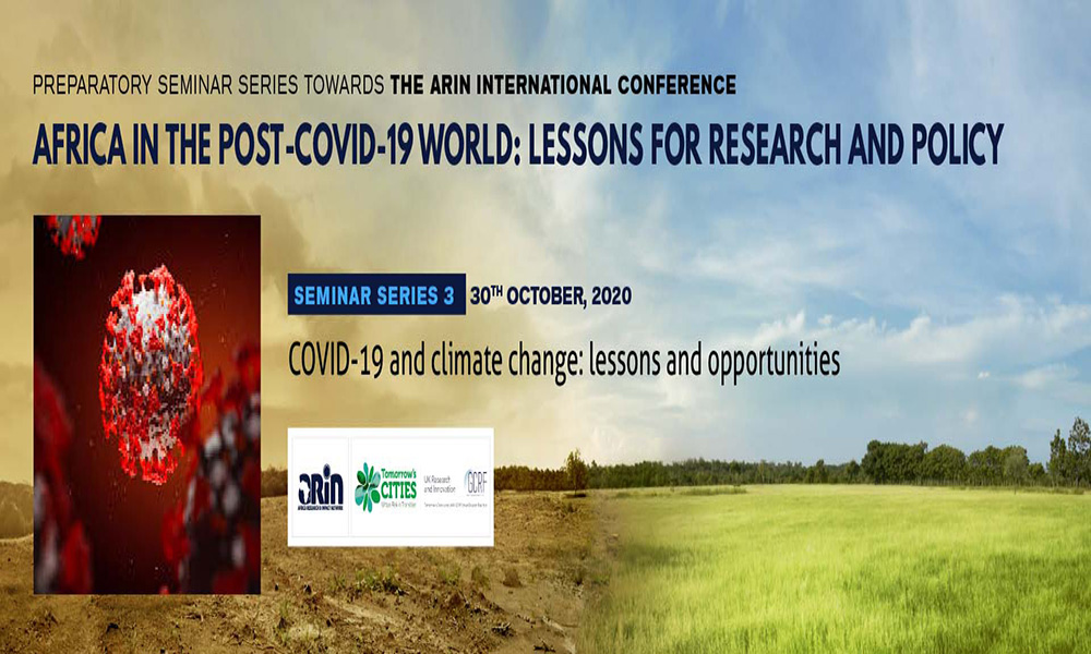 Low-carbon Development And Climate Resilience In The Post COVID-19 World