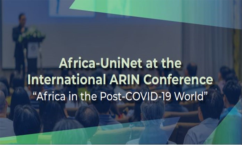 "The ARIN International Conference Side Event On ""Status of Research Collaborations and Partnerships Beyond COVID-19 """
