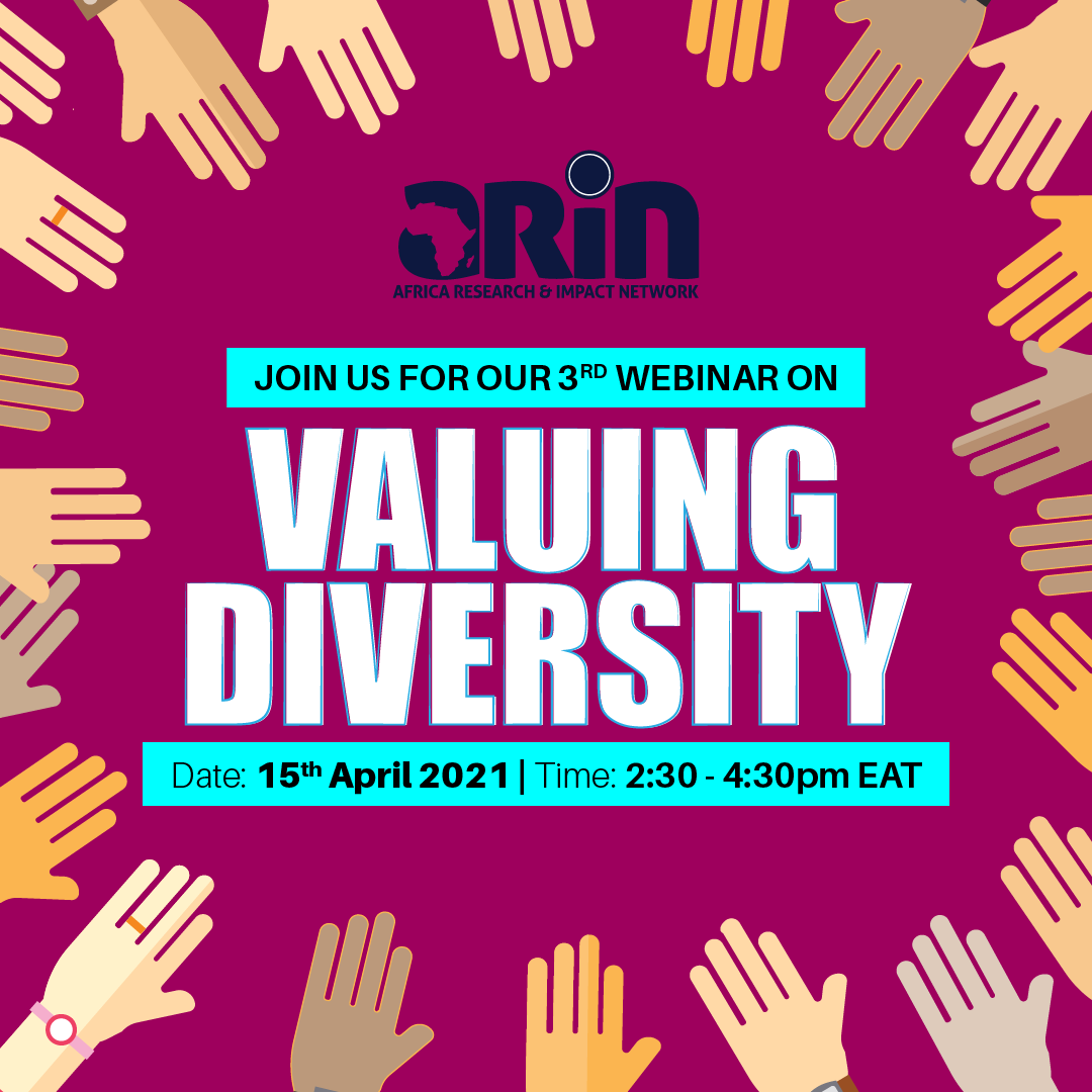 Webinar 3: Valuing Diversity In Methods
